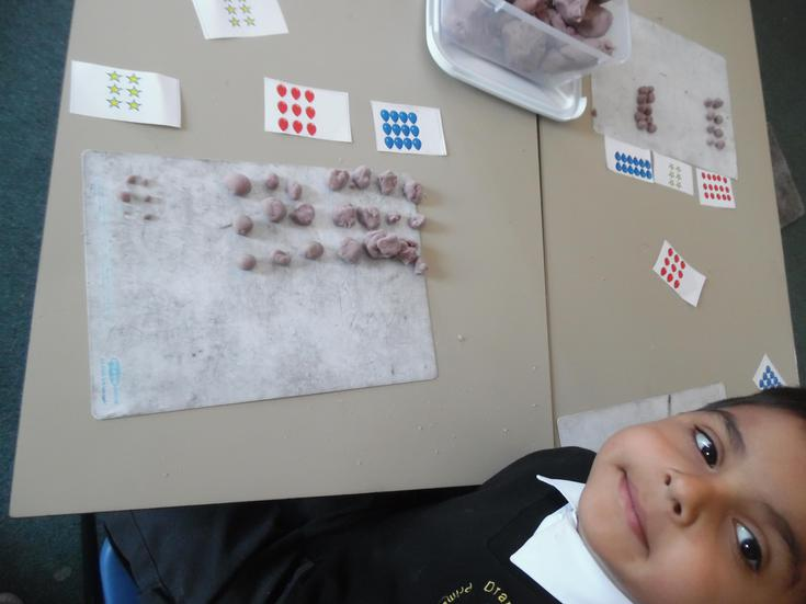 Practising rows and columns to create arrays