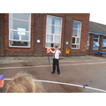 We followed the designs to make aeroplanes/kites.