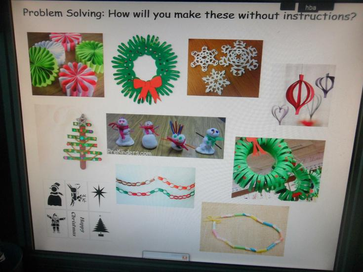We had Christmas craft problems to solve.