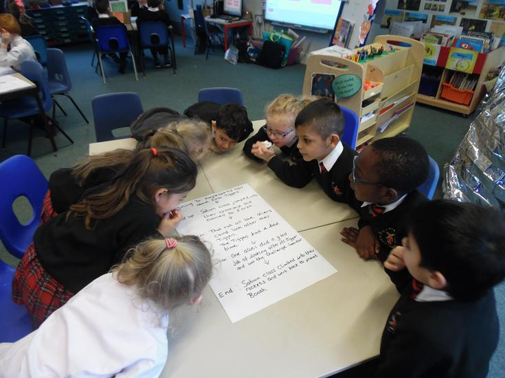 Story group planning