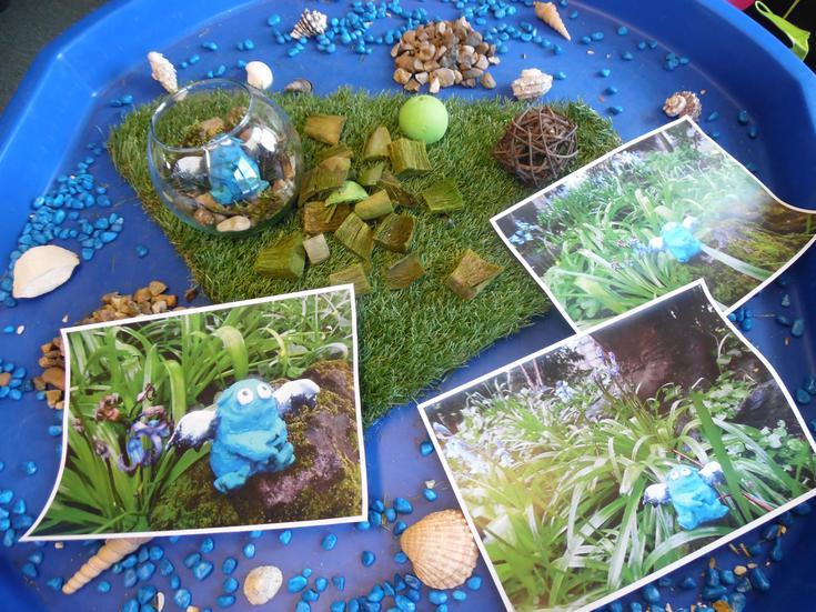 Bog Baby's habitat in progress