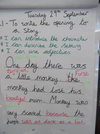 Preparing for our Big Write!