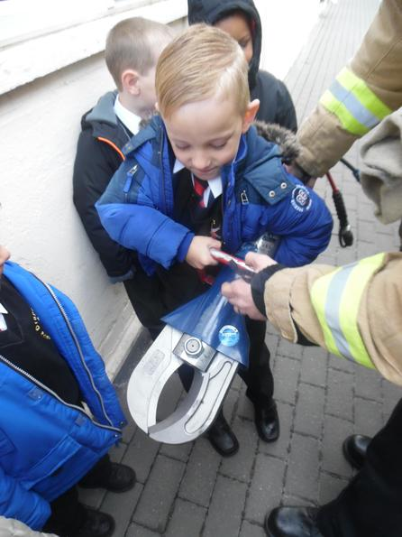 A fire fighter's pair of scissors!