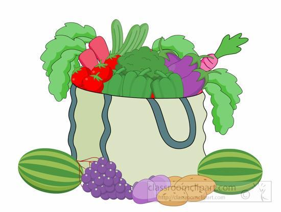 Children, what fruit and vegetables can you see?