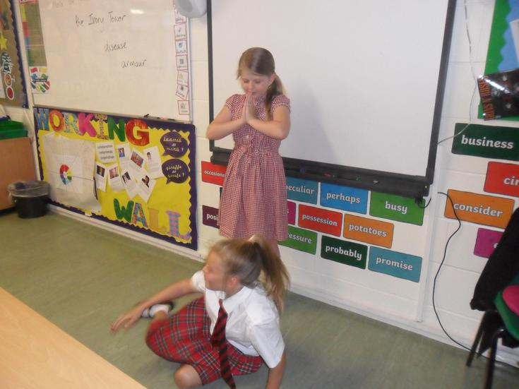 Learning through role-play:All about metaphors....