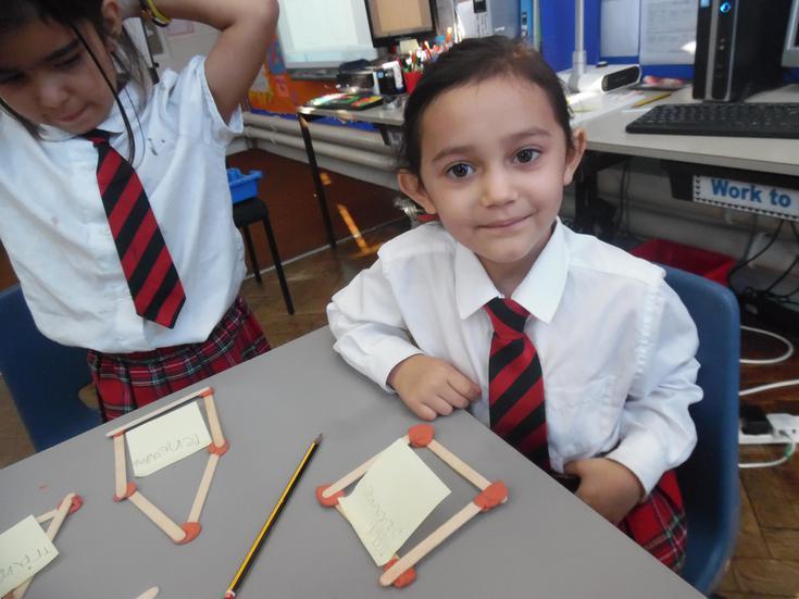 Constructing 2D shapes