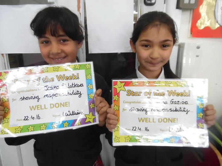 Our Stars of the week ! Jesika and Ivana.