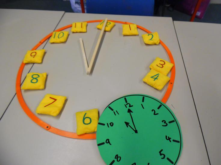 Learning to learning the time on analogue clocks