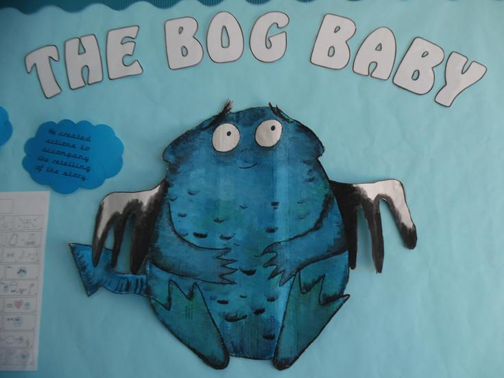 What does Bog Baby look like?