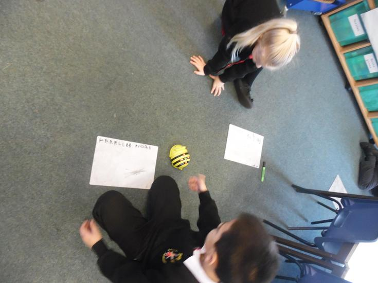 Programming Beebots in ICT
