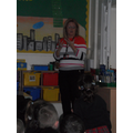 Mrs Evans was found and told us all about it.