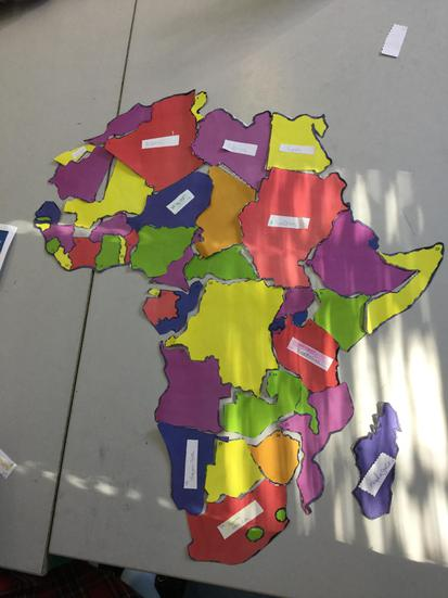 Building the African continent, country by country