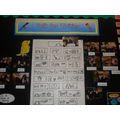 Talk 4 Writing display.