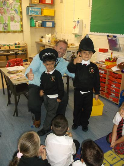 Some of the pupils want to be a police officer.