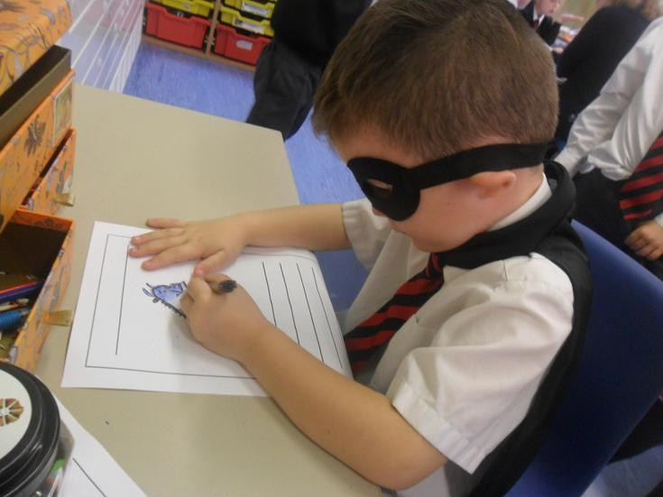 Look at this super independent writer!