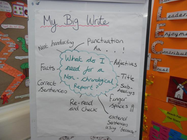What do we need for our 'Big Write'?