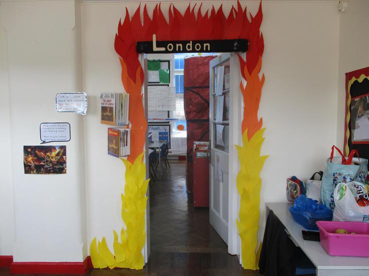 enter our classroom