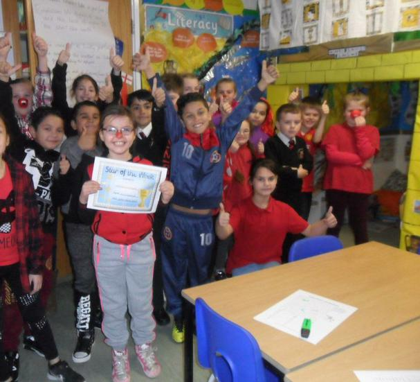 Acknowledging Red Nose Day......