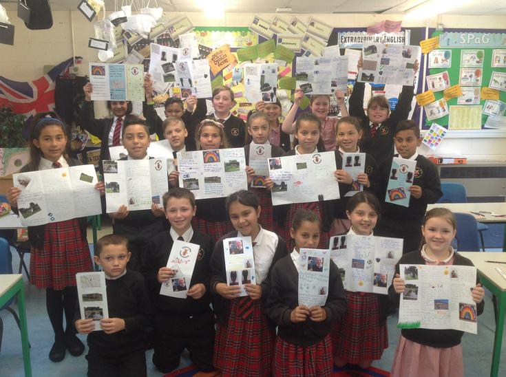 Features of non-fiction - AMAZING leaflets!