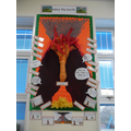 Our volcano display