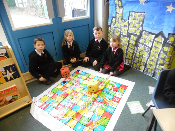 Doubling our scores when playing Snakes & Ladders
