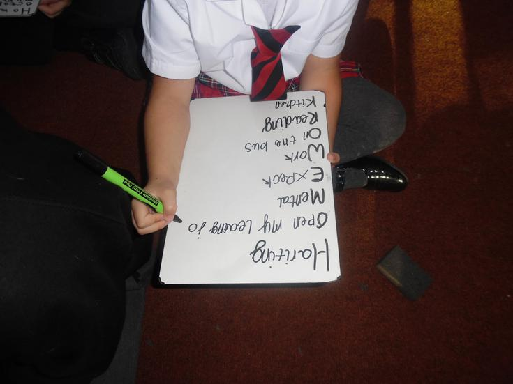 Developing our knowledge of Acrostic Poems