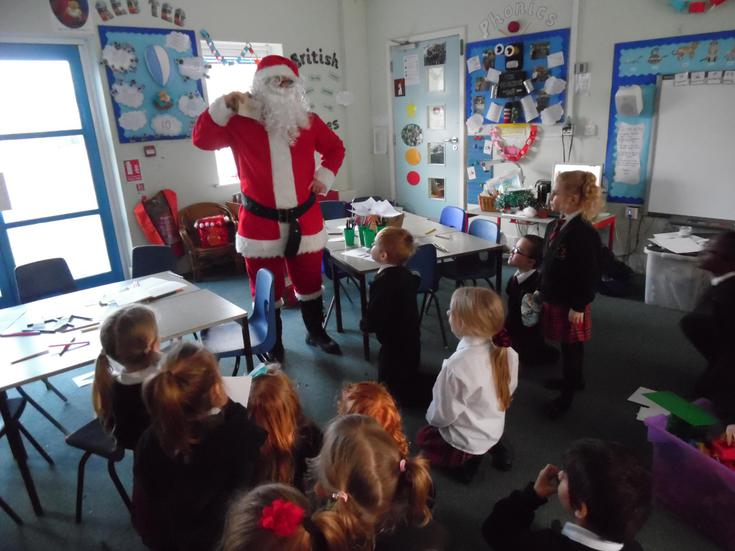 Father Christmas paid us a visit!