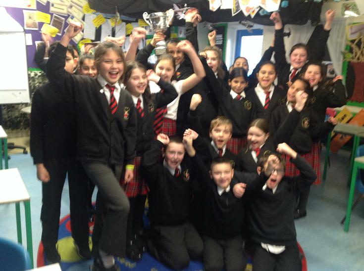Another cup for attendance! Well done Robins!