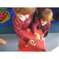 We have been enjoying mini time challenges this week.
