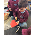 Check out our brilliant cutting skills!