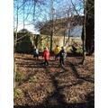 Exploring forest school.