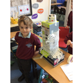 We are enjoying our creative table and spend a long time building models.