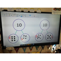 Looking at part whole models, using our number bonds to 10