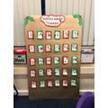 Puffins handmade Advent Calendar