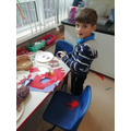 Creating a human senses plate