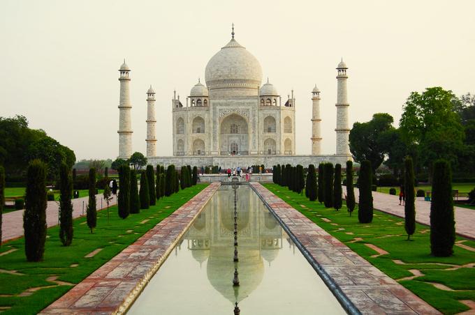The Taj Mahal (India)