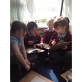 Our writing den!