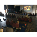 Christmas movie afternoon...we even had popcorn!