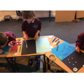 Creating night and days pictures showing what you might see.