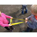 Working together to make shapes