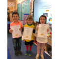 This weeks certificates