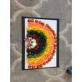 Our Harvest rainbow