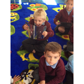 Making sure we are using our mouth correctly to say our sounds in phonics