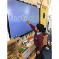 Numbers on a number line
