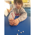 We have been learning about patterns in maths.