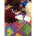 We practised writing the tricky number 8!