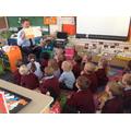 Mr Knight read us a story