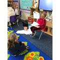 Playing at teaching phonics