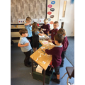 We have enjoyed finding out how to make puppets.
