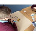 Jayden designing a superb ROV